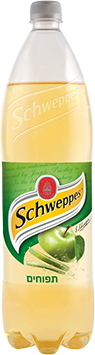 schweppes בטעם תפוחים 1.5 ליטר