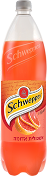 schweppes בטעם אשכולית אדומה 1.5 ליטר