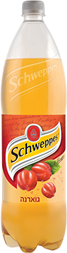 schweppes בטעם גוארנה 1.5 ליטר
