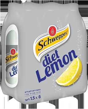 מארז שוופס בטעם דיאט לימון ליים