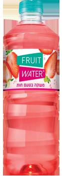 fruit water בטעם תות 1.5 ליטר
