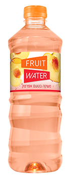 fruit water אפרסק