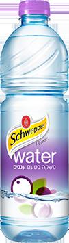 מים בטעם ענבים