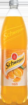 schweppes תפוז 1.5 ליטר