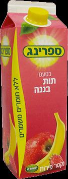 נקטר תות בננה 1 ליטר