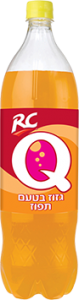 RCQ גזוז בטעם תפוז