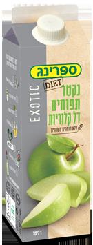 נקטר בטעם תפוחים דל קלוריות
