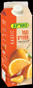 נקטר בטעם תפוזים