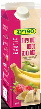 נקטר בטעם תות בננה