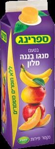נקטר מנגו בננה מילון 1 ליטר