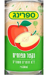 פחית נקטר בטעם תפוחים
