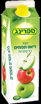 נקטר דיאט תפוחים 1 ליטר