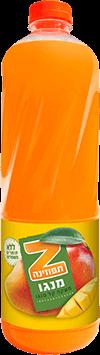 תפוזינה משקה קל מנגו