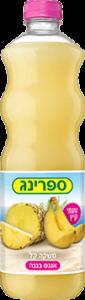 תפוזינה משקה קל אננס בננה