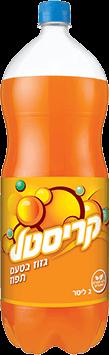 קריסטל תפוז מוגז 2 ליטר