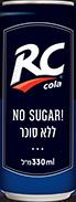 ארסי קולה ללא סוכר פחית