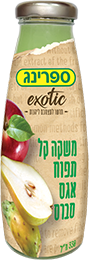 spring בטעם תפוח אגס סברס אישי 330 מ